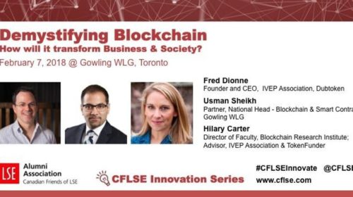 Demystifying Blockchain, Toronto, Feb 7